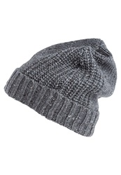 Pier One Hat Light Grey Melange Mottled Light Grey