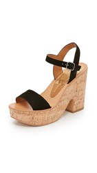 Dolce Vita Randi Wedge Sandals Black