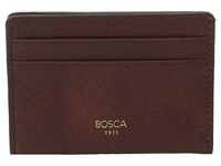 Bosca Washed Collection Weekend Wallet Dark Brown Wallet Handbags