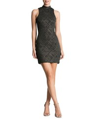 Dress The Population Embellished Bodycon Charcoal