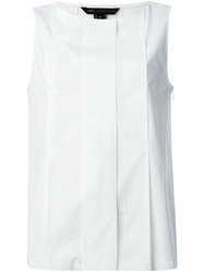 Marc By Marc Jacobs Pleated Front Tank Top