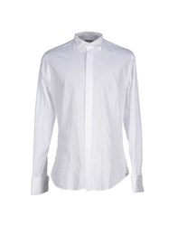 Tombolini Shirts Shirts Men White