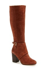 Women's Bcbgeneration 'Denver' Knee High Boot Cognac
