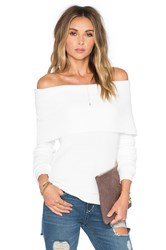 Lovers Friends X Revolve Vylette Sweater White