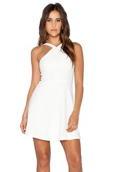 Ladakh Strappy Skater Dress Ivory