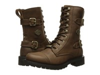 Harley Davidson Balsa Brown Women's Lace Up Boots
