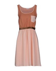 Vintage 55 Dresses Short Dresses Women Light Pink