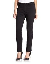 Nydj Petite Solid Jeggings Black