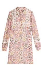 Giamba Chiffon Shirt Dress Multi