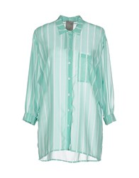 Alice San Diego Shirts Shirts Women Light Green
