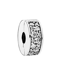 Pandora Design Pandora Clip Sterling Silver And Cubic Zirconia Shining Elegance Moments Collection