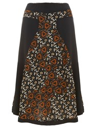Nougat London Barbican Printed Skirt Multi Coloured