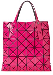 Issey Miyake Lucent 2 Pink Pvc Tote