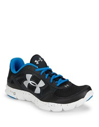 Under Armour Engage Lace Up Sneakers Black
