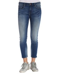 Vigoss Jagger Mid Rise Crop Jeans Medium Wash
