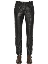 Belstaff Telford Smooth Leather Biker Pants