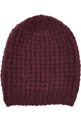 Maje Knitted Beanie Red