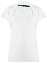 Barbara Bui Layered Shoulder Effect T Shirt