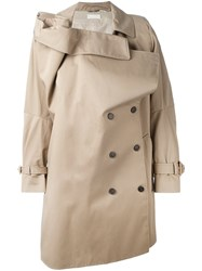 Maison Margiela Vintage Deconstucted Trench Coat Nude And Neutrals
