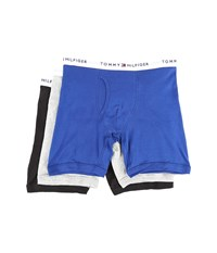Tommy Hilfiger Cotton Boxer Brief 3 Pack Bluebird Men's Underwear