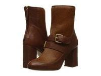Boutique Moschino Pony Buckle Bootie Hide Pony Women's Dress Boots Brown