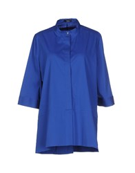 Hanita Shirts Blouses Women Blue