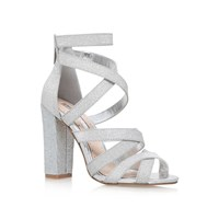 Miss Kg Flick High Heel Sandals Silver