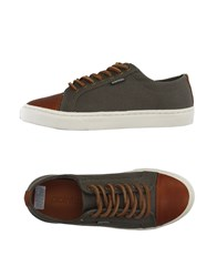 Pointer Footwear Low Tops And Trainers Women Military Green