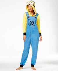 Briefly Stated Minion Hooded Jumpsuit