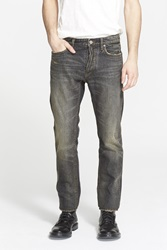 Marc By Marc Jacobs 'Jimmy' Slim Fit Low Rise Jeans Worn Indigo