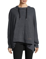 Bench Batwing Hoodie Anthracite