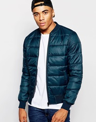 New Look Lightweight Padded Jacket Turquoise