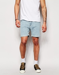 Another Influence Printed Shorts Blue