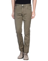 Luigi Borrelli Napoli Casual Pants Dark Green