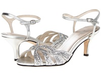 Caparros Heirloom Silver Metallic High Heels