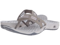 Columbia Sunbreeze Vent Cruz Flip Pebble Graphite Women's Sandals Gray