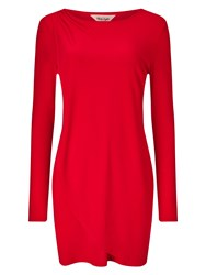 Phase Eight Dotty Draped Tunic Red