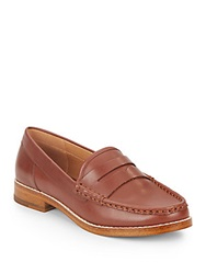 Kelsi Dagger Gabby Leather Moccasins Brown