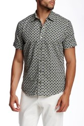 Parke And Ronen Concorde Army Print Short Sleeve Shirt Multi