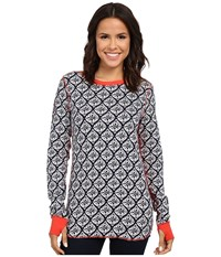 Hatley Reversible Top Medallion Women's Clothing Gray