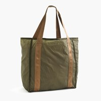 J.Crew Packable Ripstop Grocery Tote Bag