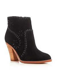 Ivanka Trump Mandel High Heel Booties Black