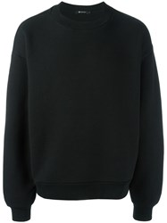 Alexander Wang T By Oversized Sweatshirt Black