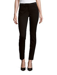 Rebecca Taylor Solid Stretch Twill Pants Black