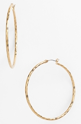 Nordstrom Large Hoop Earrings Gold
