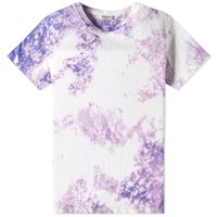 Saint Laurent Tie Dye Clouds Tee Multi