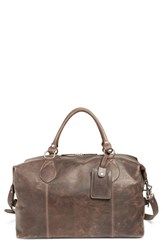 Frye Men's 'Logan' Leather Overnight Bag Brown Online Only Slate