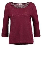 Only Onljess Long Sleeved Top Windsor Wine Red
