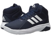 Adidas Cloudfoam Ilation Mid Collegiate Navy White White Men's Basketball Shoes