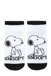 Forever 21 Snoopy Ankle Socks